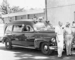 Modern Ambulance Vehicles - 1948 Cadillac Ambulance