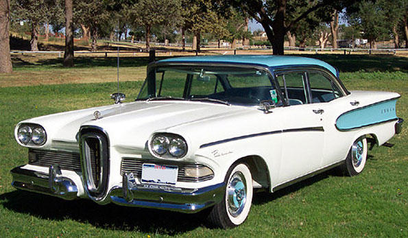 The 1960 Edsel holds dubious honer: Worst-selling car in history
