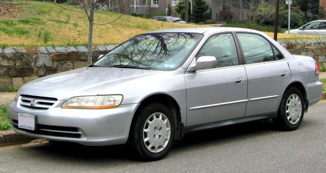 The 2002 Honda Accord among the more 300,000 used cars being recalled.