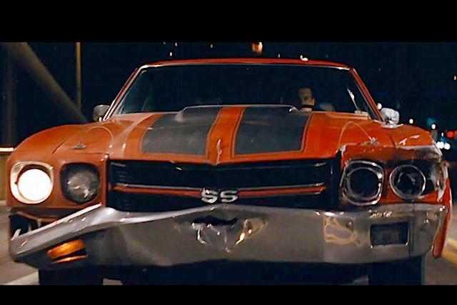 1970 Chevy Chevelle SS shares Hollywood spotlight with Tom Cruise in Jack Reacher 3
