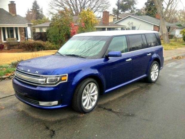 Ford Flex, 2013: New minivan standard for saddle shoes on wheels