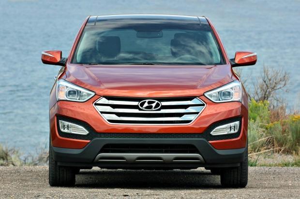 2013 Hyundai Santa Fe Sport: Redesigned Crossover has sleeker styling 5