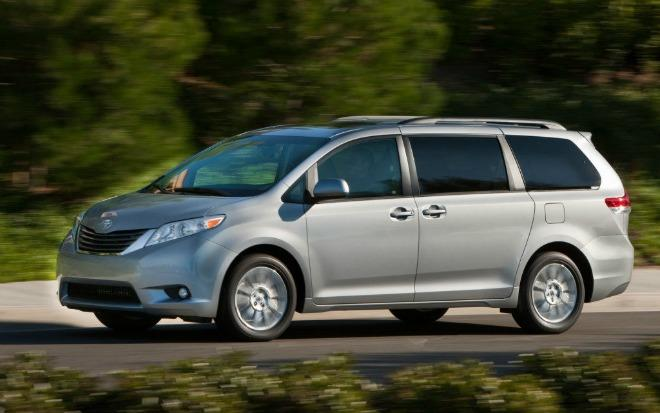 The 2016 Toyota Sienna is a versatile minivan for families of all sizes.