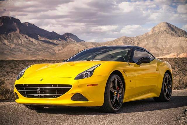The 2016 Ferrari California is among the large stable of exotic vehicles for rent at Royalty Exotic Cars. All images © Jordan Shiraki.
