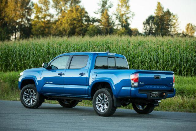 The redesigned 2016 Toyota Tacoma.