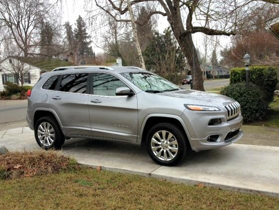 The 2017 Jeep Cherokee includes the top-line Overland.