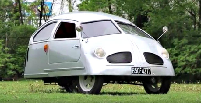 The worst car ever? Auto-Kabine, a VW Bug on steroids