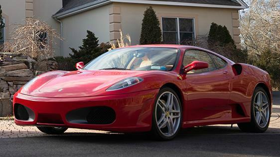 Ferrari F430 once owned by President Trump set for auction
