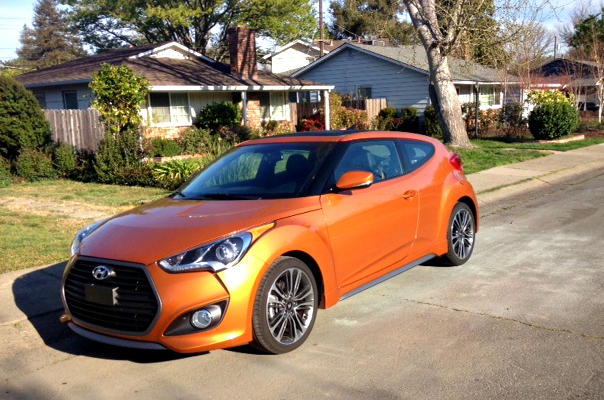 2017 Hyundai Veloster: sporty look, lackluster ride 1