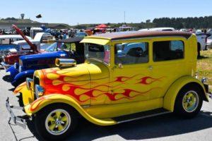 Half Moon Bay California Car Show