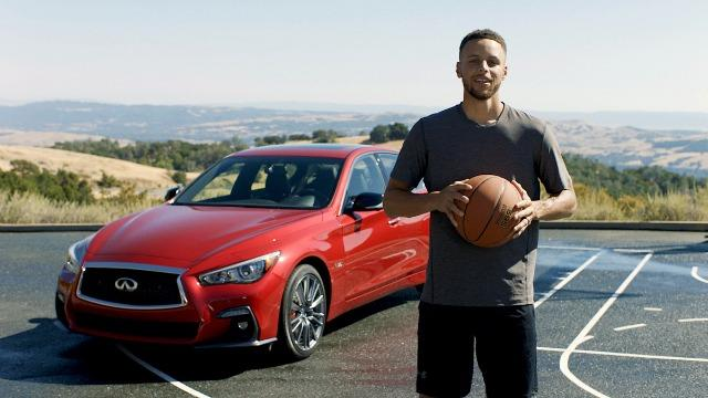 Stephen Curry is the new global ambassador with Infiniti.