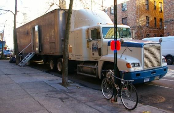 Long Beach, California, is considering a ban on large trucks parked in residential neighborhoods.