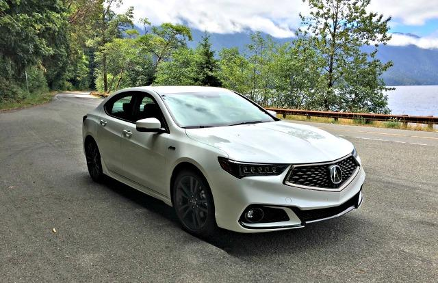 2018 Acura TLX: Improved sedan still an underdog