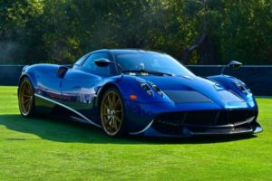 The rare and exotic Pagani was featured at The Quail: A Motorsports Gathering during Monterey Auto Week.