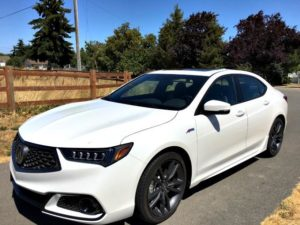 The 2018 Acura TLX competes against luxury sedans from Audi, BMW and Mercedes-Benz.