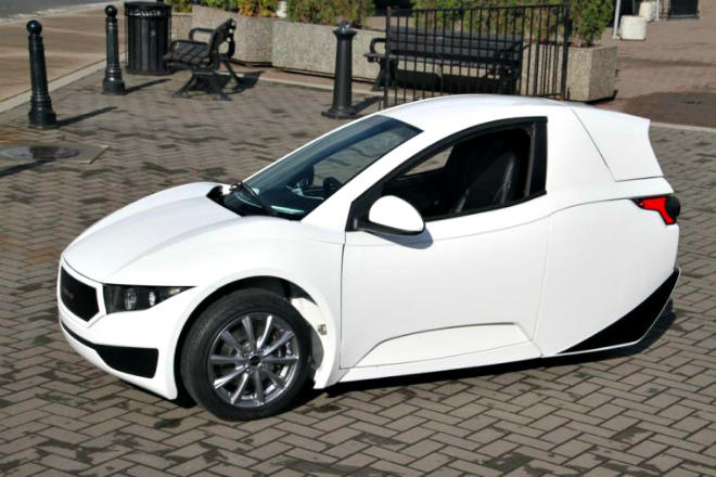 The ElectraMechannica is among EV options for the Elio.