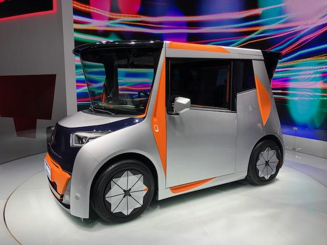 No place like home, office and car all in one new odd EV concept 3