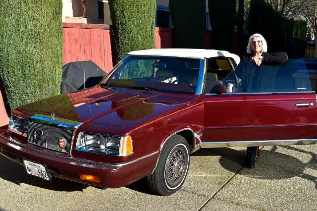 Karan Saylor is the owner of a 1986 Chrysler Lebaron convertible.