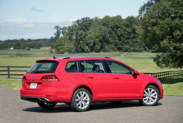 2018 VW Golf SportWagen. Image courtesy of Volkswagen.