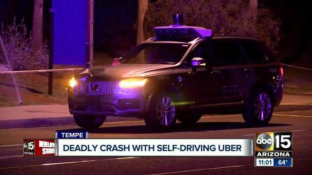 Uber has suspended its autonomous vehicle program after a woman was killed after being hit in Tempe, Arizona, by a vehicle in self-driving mode.