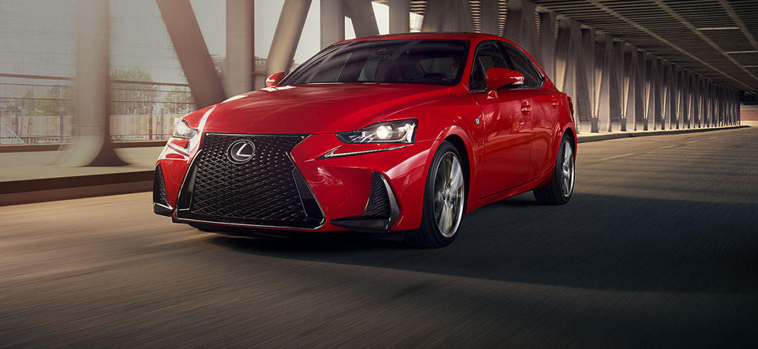 The 2018 Lexus GS 300 is sports car-oriented luxury sedan.