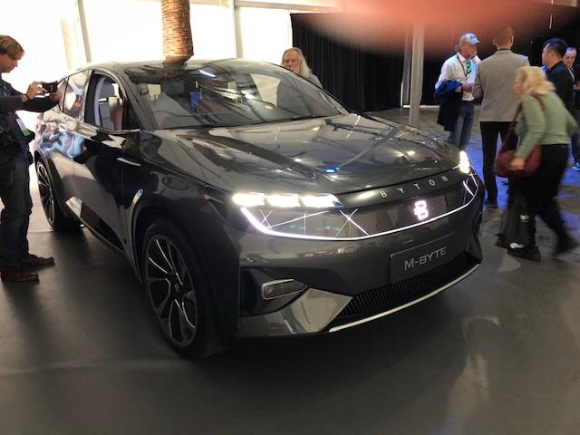 The Byton is expected to debut in China in late 2019 as a challenger to Tesla.