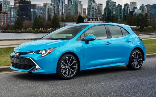The 2019 Toyota Corolla hatchback has sports car tendencies.