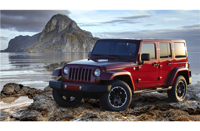 The Jeep Wrangler Limited took top honors on the recent iSeeCars.com as the vehicles with the least depreciation after five years of ownership.