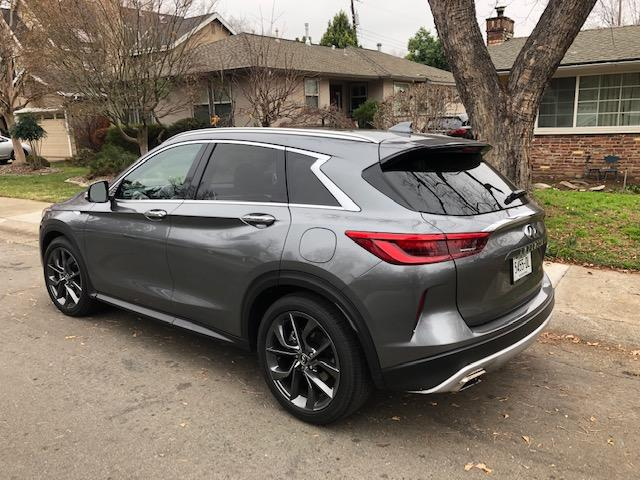 The 2019 Infiniti QX50 is a new generation after nearly a decade of the previous generation.