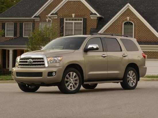 The Toyota Sequoia has the highest percentage of its vehicles reaching 200,000 miles.