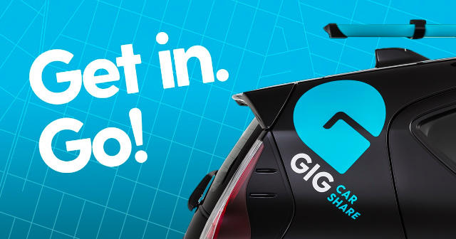 GIG, the one-way car rental service, recently made its Sacramento debut.