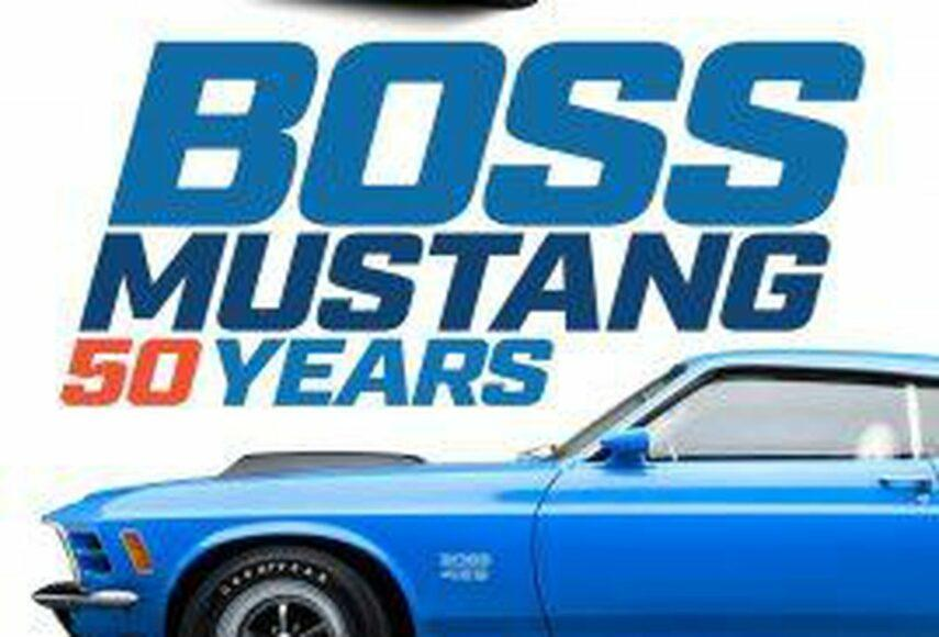 Donald Farr has been a new book about the iconic edition of the BOSS Mustang on its 50rh anniversary.