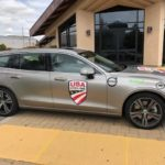 Volvo, VW and driving in the pro cycling caravan (video) 2
