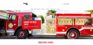 #92, Vintage firetruck converted into Ohio mobile pub 5