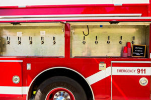 #92, Vintage firetruck converted into Ohio mobile pub 4