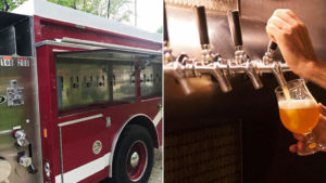 #92, Vintage firetruck converted into Ohio mobile pub 3
