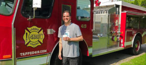 The Weekly Driver Podcast: Kevin Mullan, owner of a vintag firetruck converted into a mobile pub.