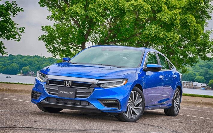 The 2019 Honda Insight is now a four-door hybrid sedan