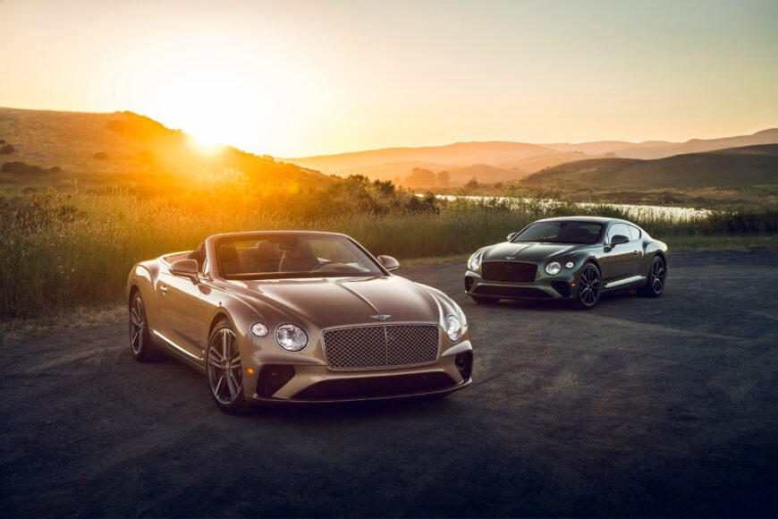 The Bentley EXP 100 GT concept will be among the iconic carmaker's varied showcase during Monterey Auto Week.