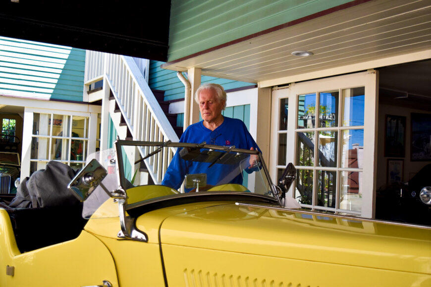 Don Martine owns the Martine Inn in Pacific Grove and is a renowned MG expert in Pacific Grove, California.