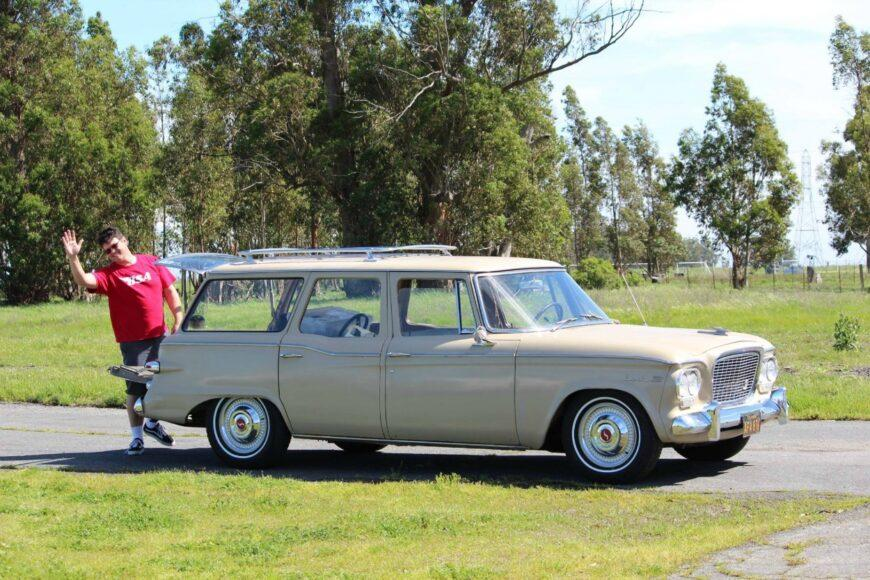 The Weekly Driver Podcast: Dean Seavers of Sacramento owns a 1961 Studebaker Mark VIII.