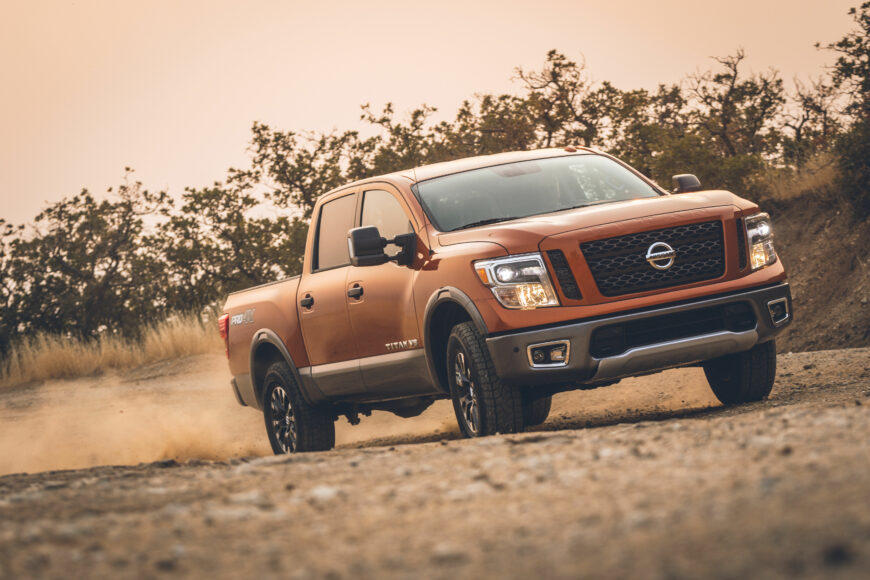 The Nissan Titan Pro4X is available among new 2019 trucks nearly two years old.
