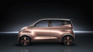 Nissan concept EV defines brilliantly bizarre city car future 2