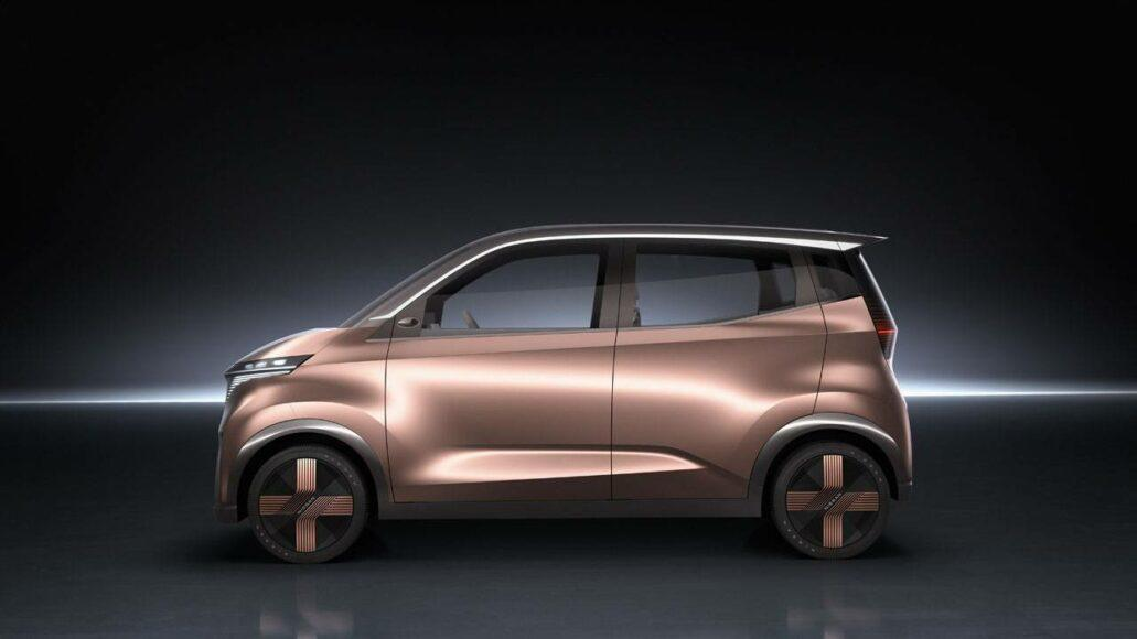 Nissan has joined the concept car craze with futuristic all EV city car.