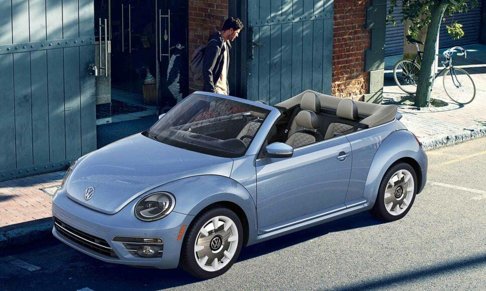 The 2019 VW Beetle was the last production year for the iconic car.