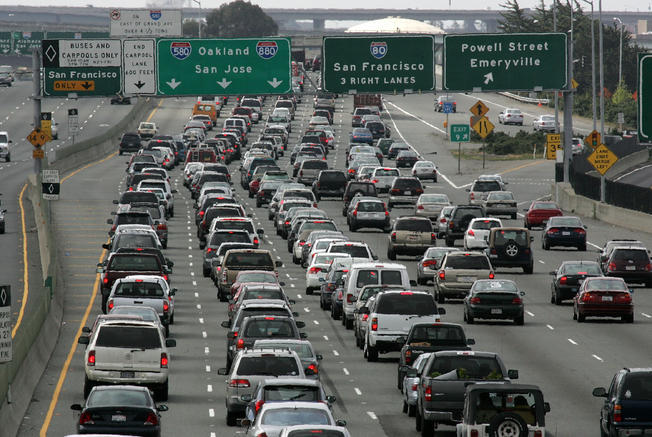 California has the worst highways in the country.
