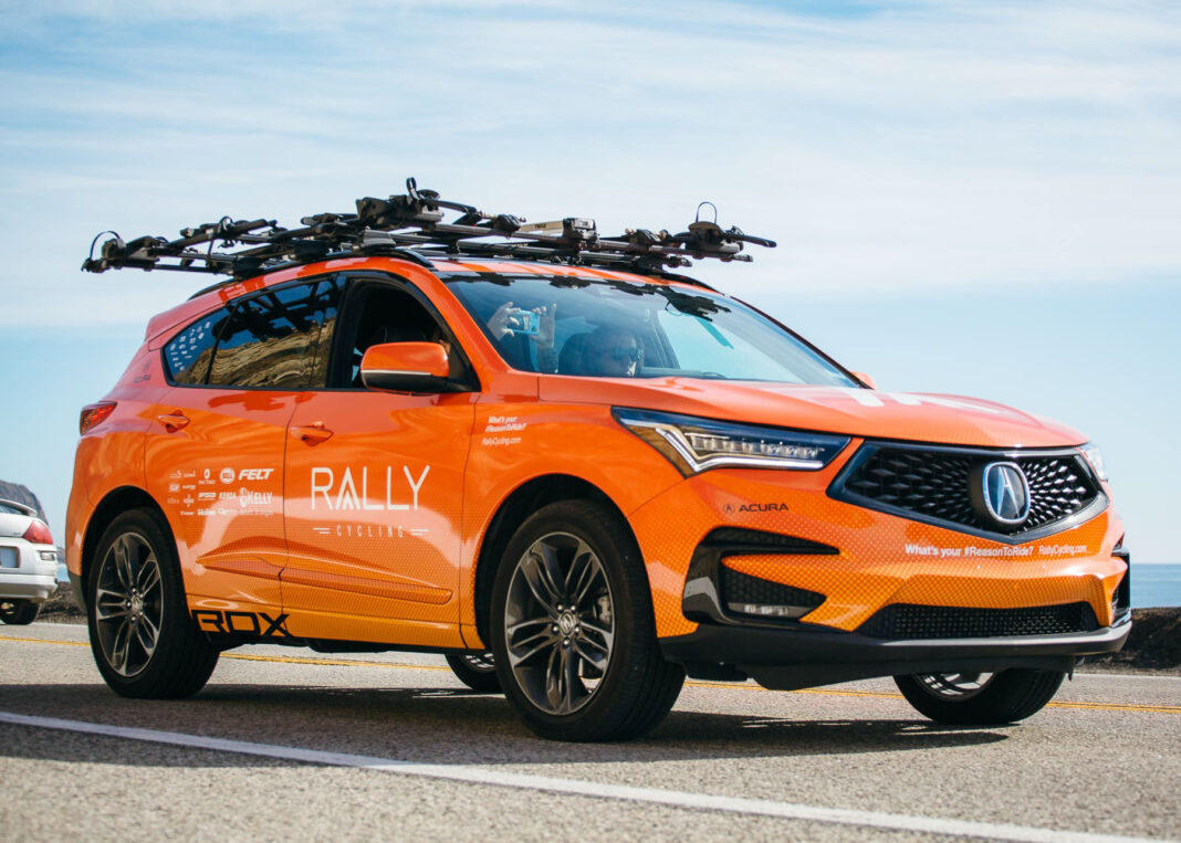 The Weekly Driver Podcast visits with The Rally Cycling Team supports its men's and women's team with 2019 Acura RDX sport utility vehicles.