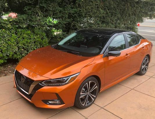 The 2020 Nissan Sentra begain the aging sedan's eighth generation, and it's looking good.