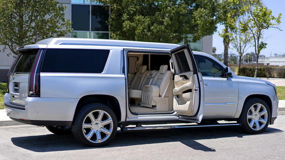 Quarterback Tom Brady is selling his customized 2017 Cadillac Escalade for $300,000.