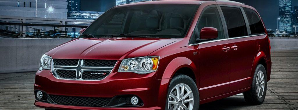 The 2019 Dodge Caravan is available for sale as a new car despite being nearly two years old.